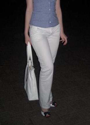 Котоновые брюки colin's