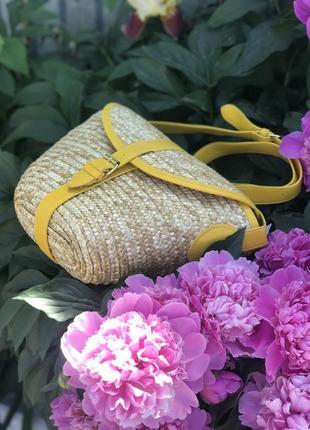 Тренд літа 2018! солом'яна сумка, соломенная сумка, сумка из соломы!