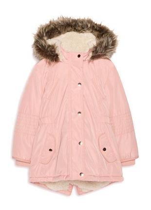 Демисезонная удлиненная куртка, парка для девочки, primark, германия.