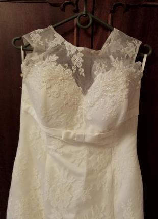 Свадебное платье русалка2 фото
