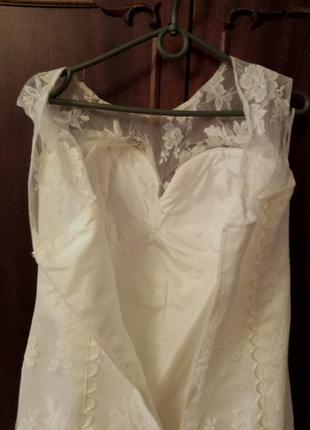 Свадебное платье русалка3 фото