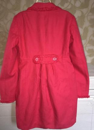 Малиновый летний пиджак m&c3 фото