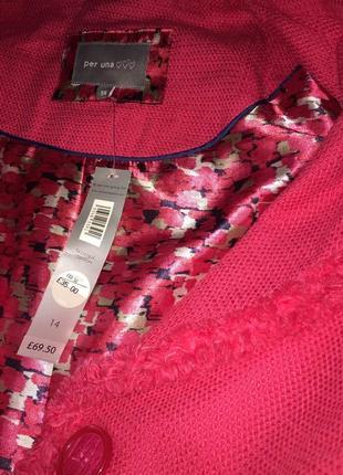 Малиновый летний пиджак m&c2 фото