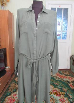 Платье рубашка наш 50-52 р-р,16-18 р-р