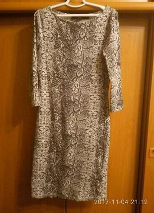Платье питоновое шведский бренд crafted