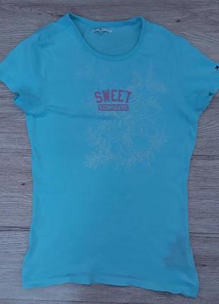 Женская футболка tommy hilfiger