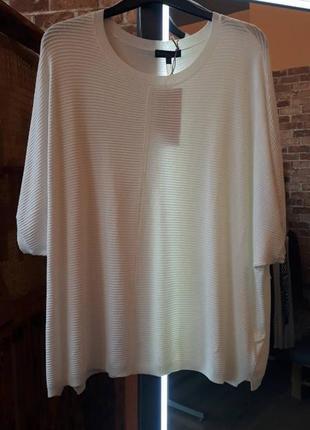 Шикарная трикотажная блуза большого размера от f&f