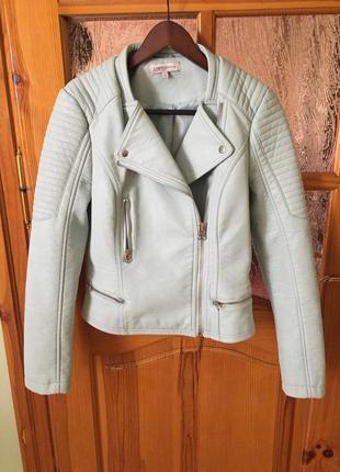 Кожаная куртка косуха marks & spenser
