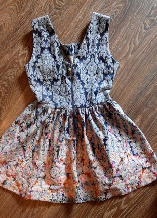 Нежное платье в цветочный принт платье колокольчик a.m.n.
