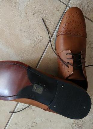 Redherring туфли броги оксфорды, размер 44 (10uk).