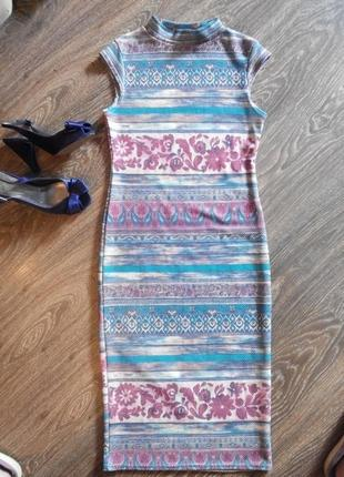 Шикарное платье миди new look