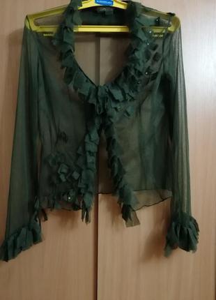 Лёгкая блуза annabianura, размер 42. призводитель италия.