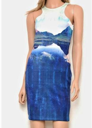 Платье-майка с открытой спиной