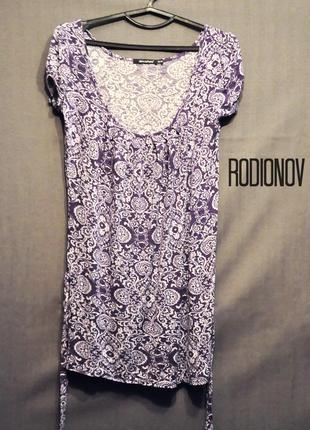 Короткое брендовое платье,  туника