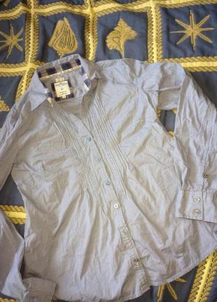 Хлопковая блуза  tom tailor