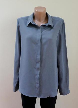 Блуза рубашка серая atmosphere