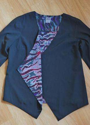 Шифоновый пиджак , накидка , блейзер от vero moda3 фото