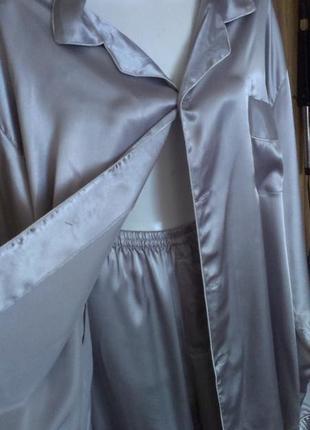 Пижама шелковая aoli большой размер