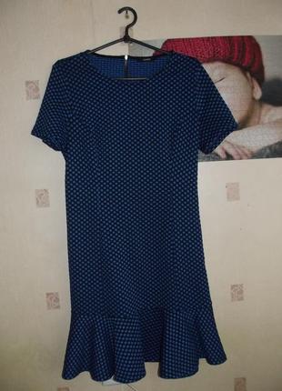 Платье в горошек george