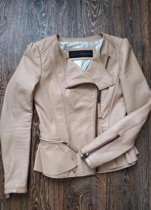 Куртка косуха zara(зара)