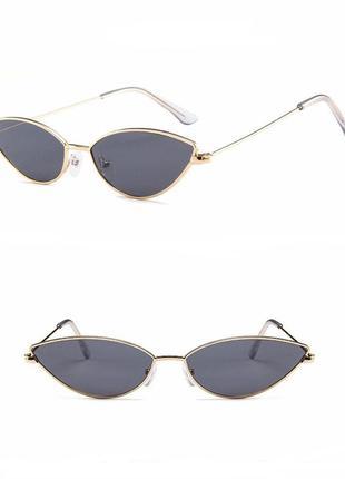 Очки неординарные, индивидуальные, стильный дизайн - uv400-защита 100%
