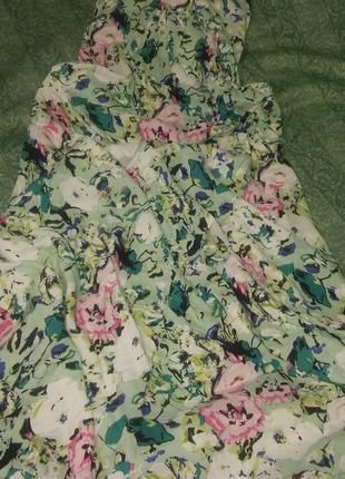 Сарафан макси длинное платье в пол