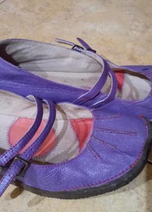Туфли балетки для проблемных ножек натуральная кожа