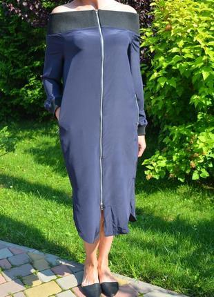 Улетное платье от asos 100%   шелк!!!