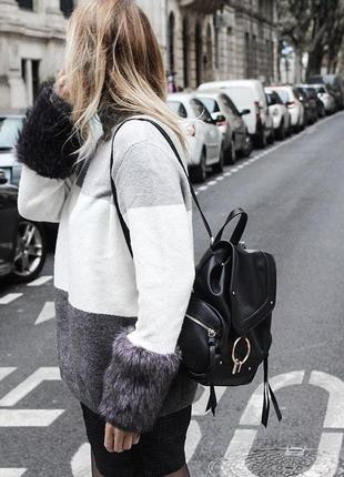 Сумка - рюкзак zara