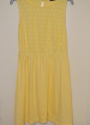 Яркое солнечное платье, 12 размера