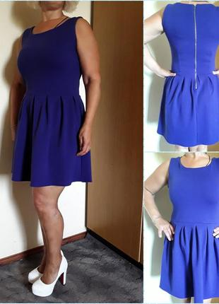 Фиолетовое новое  платье