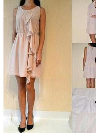 Шифоновое платье от h&m