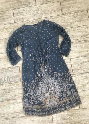 Ликвидация товара#шелковое платье люкс бренда massimo dutti