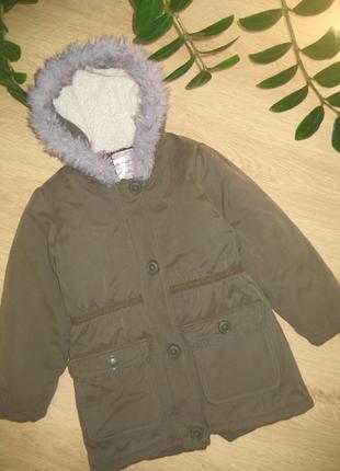 Демисезонная курточка/парка 5-7 лет