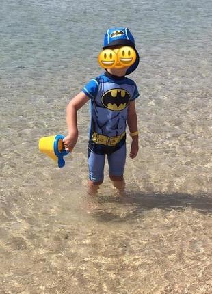 Купальный костюм batman на 1,5-2 года рост 92 см.2 фото