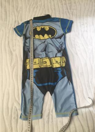 Купальный костюм batman на 1,5-2 года рост 92 см.5 фото