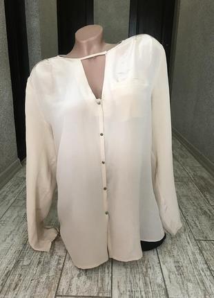Шикарная шелковая блуза french connection
