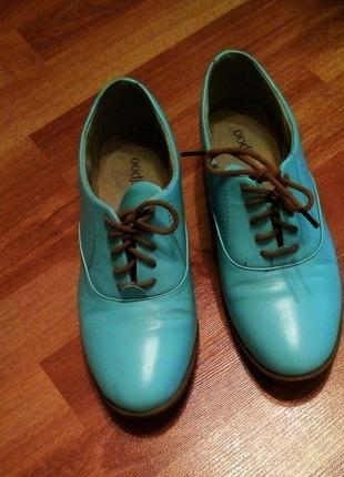 Туфли на низком каблуке,oodji,размер 37