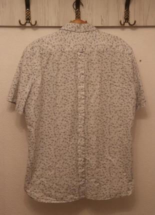 Рубашка мужская 100% коттон,xl