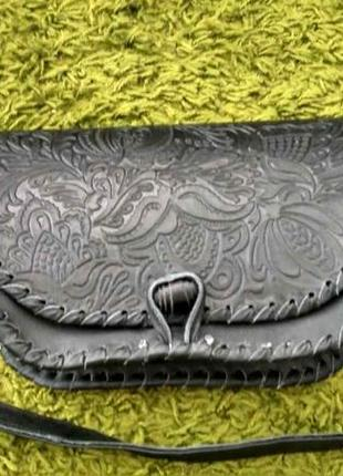 Handmade сумка из натуральной кожи