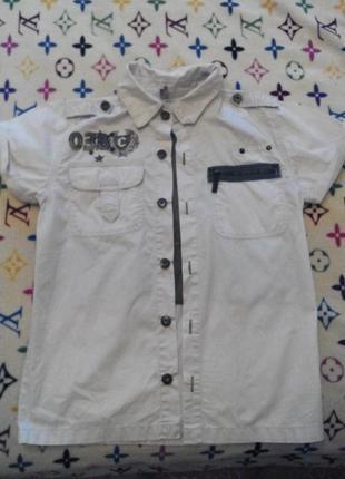 Фирменная рубашка puledro 146см