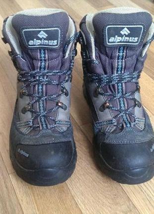 Ботинки треккинговые туристические alpinus