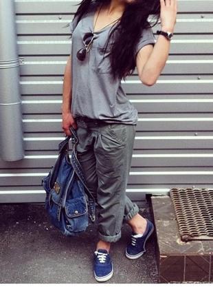 Брюки хаки чина брюки стильные брюки