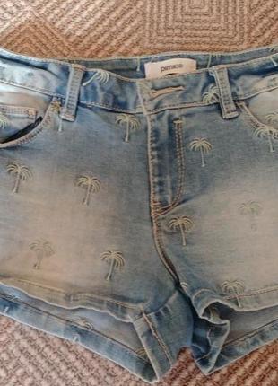 Короткие шорты с пальмами pimkie