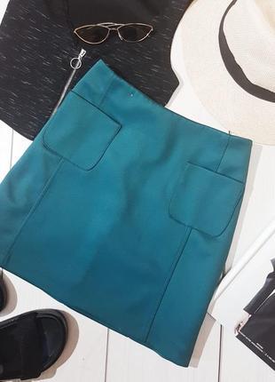 Изумрудная юбка new look
