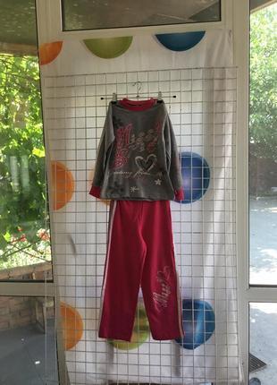 Спортивный, трикотажный костюм для девочек