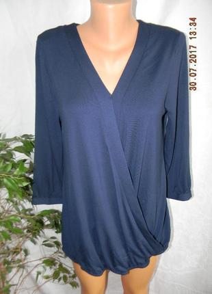 Блуза новая на запах вискоза george