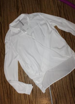 Новая рубашка размер м . вискоза