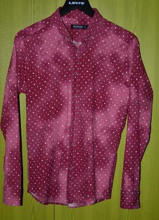Рубашка мужская с рукавом трансформер