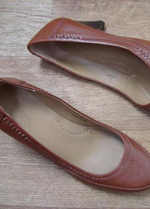 Кожаные туфли footglove